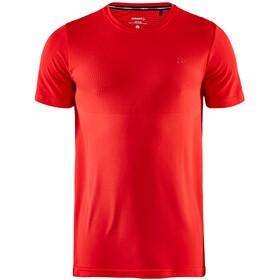 Craft Fuseknit Light Shirt met ronde hals Heren, rood